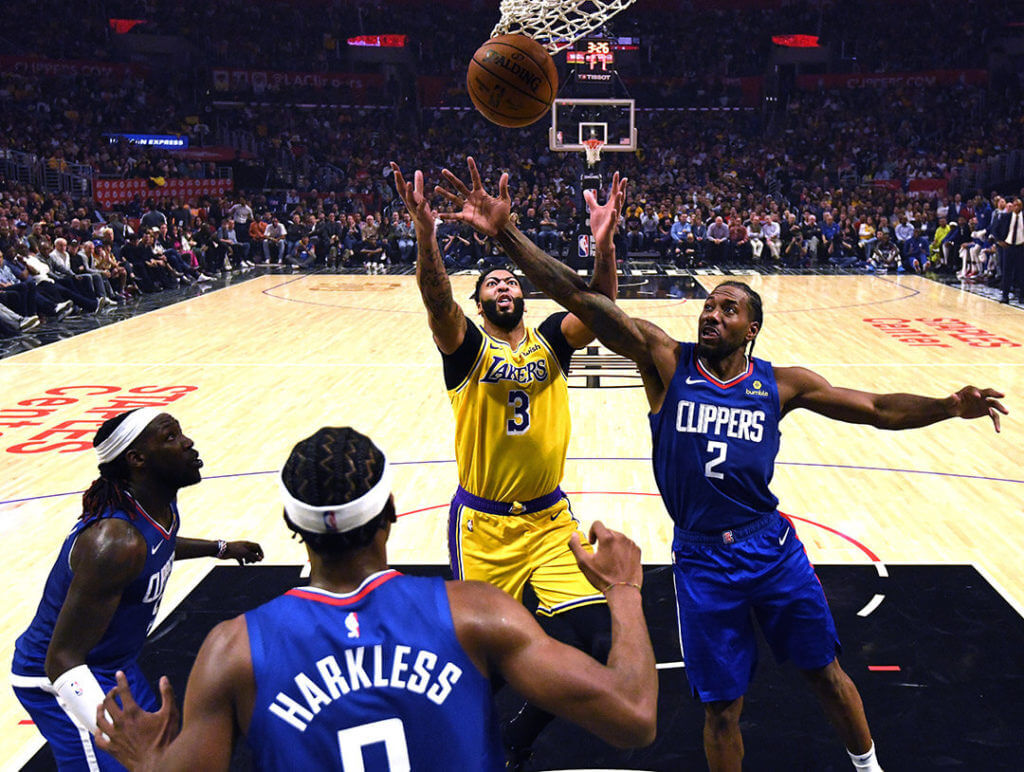 Lakers stagione NBA