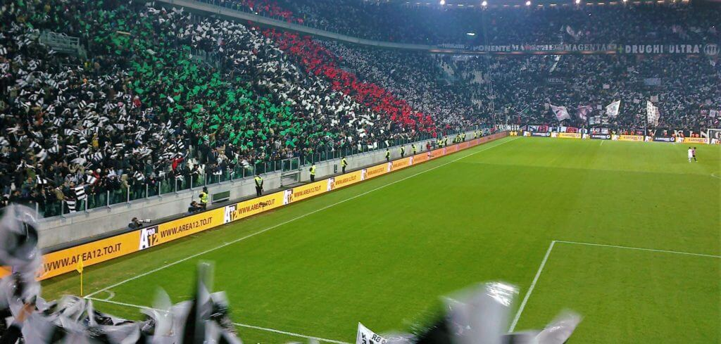 Inside Juventus Stadium