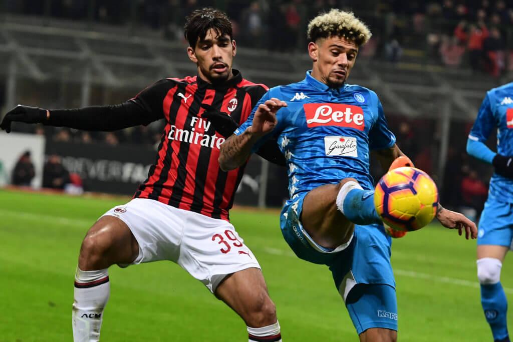 Milan e Napoli stagione 2018/19