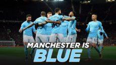 "Il ""Derby di Manchester"" all'Etihad Stadium"