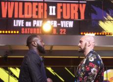 La seconda sfida tra Deontay Wilder e Tyson Fury