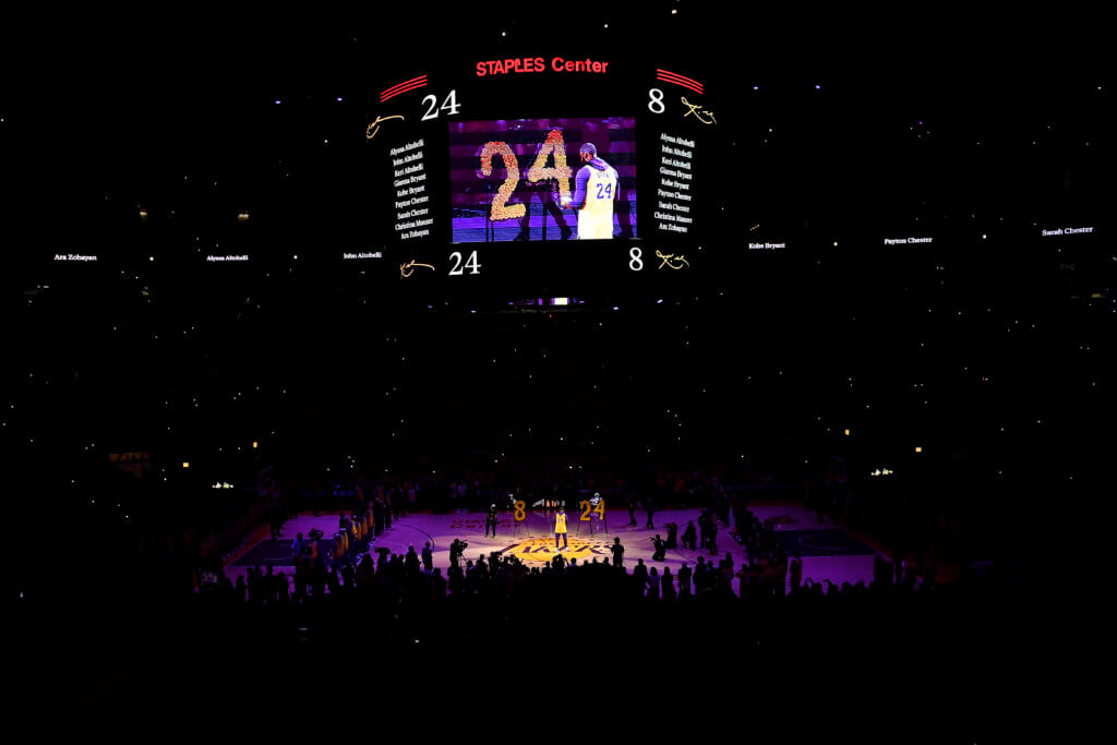 tributo a Kobe, all star game