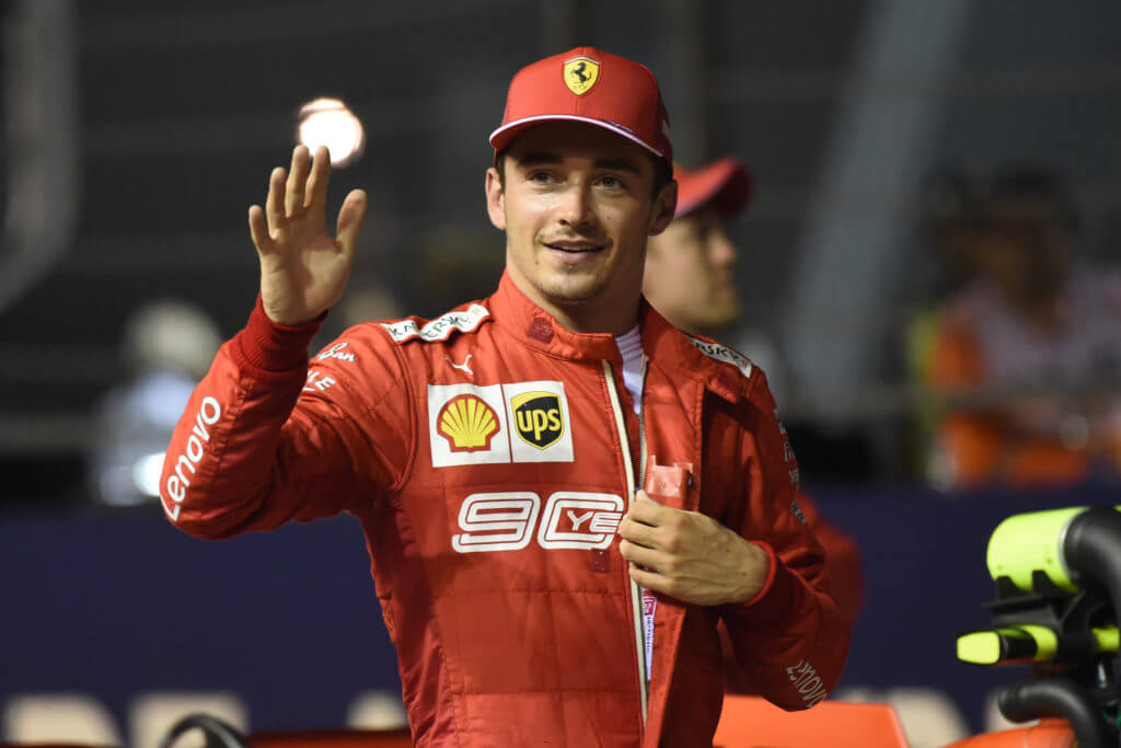 Leclerc stagione Formula 1