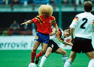 px Mondiali    Germania Ovest vs Colombia   Carlos Valderrama Thomas Häßler