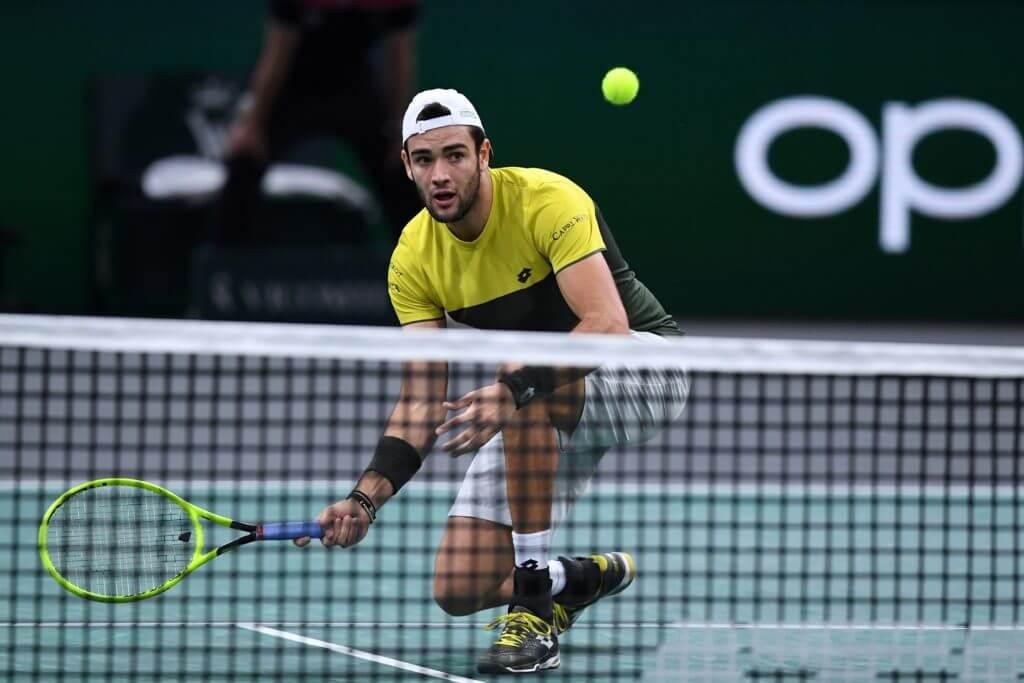 Berrettini giovane tennista italiano