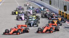 La Formula 1 scende in pista a Luglio