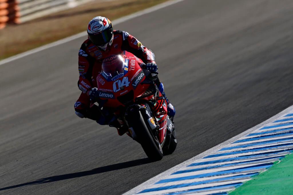 Dovizioso nel Gran Premio di Spagna