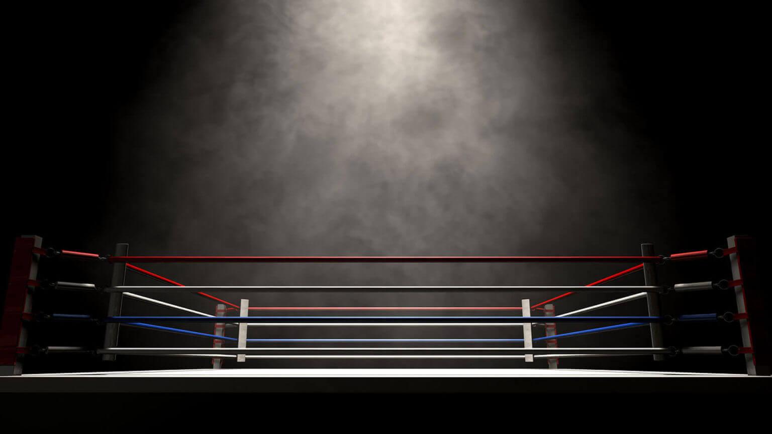 boxing ring bg